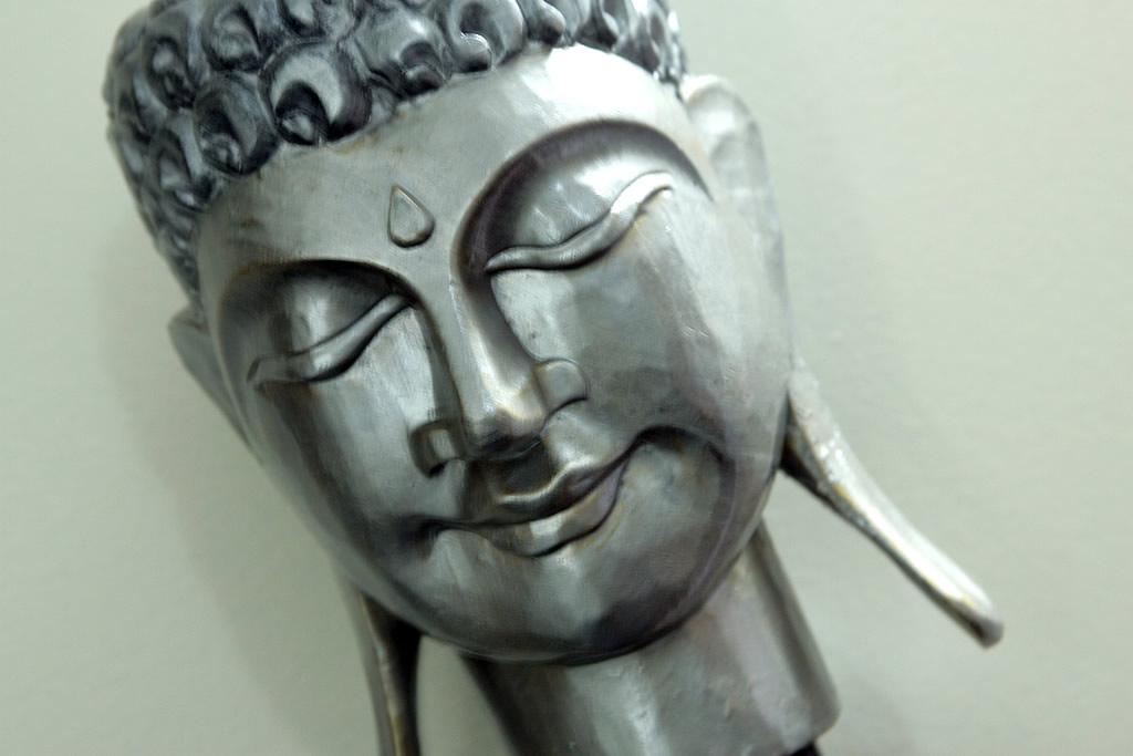 Decorazione col buddha
