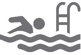 Symbol Schwimmbad