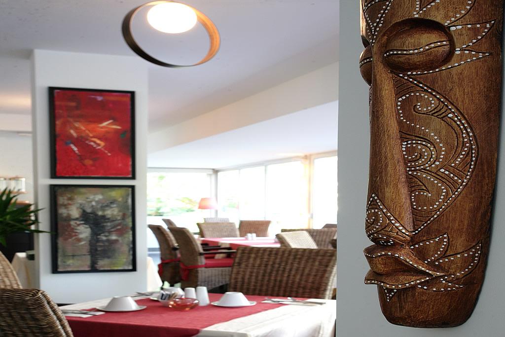 Sala del ristorante a Lignano